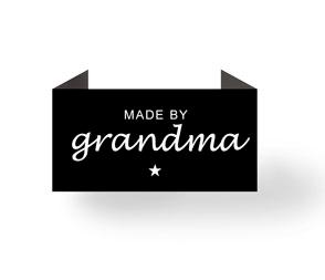 Madeby grandma - sort - endebukket