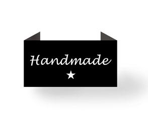 Handmade - sort - endebukket