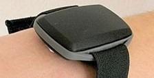 Elastisk armbånd til GPS og h