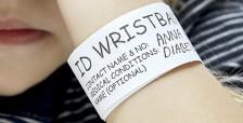 ID-armband av papper