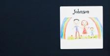 Postkassemerke i vinyl