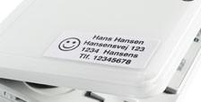 Etykiety samoprzylepne 37x16 mm