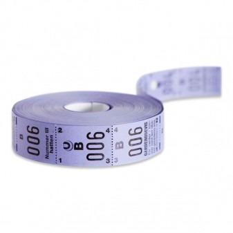 Garderobemærker på rulle - 3 delt