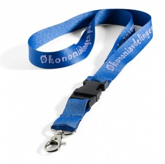 Lanyards med text