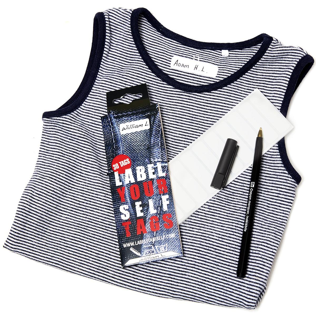 3d61ef429944 Labelyourself tags - Mærk dit tøj hurtigt